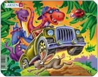 Пазлы «Вечеринка динозавров», Larsen
