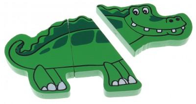 Пазл магнитный «Крокодил»