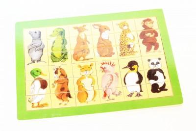 Пазл разрезные картинки «Зоопарк»