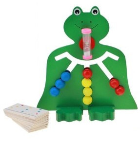 Головоломка с карточками лабиринт «Лягушка»
