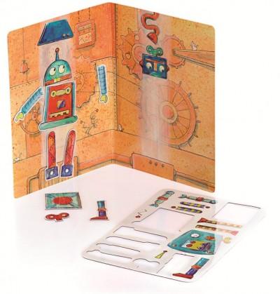 Магнитная игра «Робот», Egmont Toys