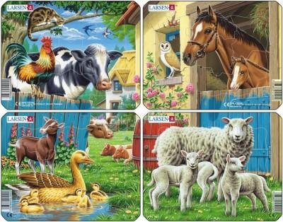Пазл «Животные фермы», Larsen