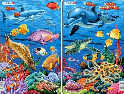 Пазл «Коралловые рифы», Larsen