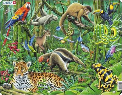 Пазл «Южно-американские тропики», Larsen