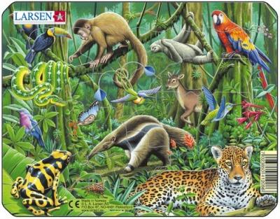 Пазл «Экзотические животные», Larsen